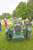 Lagonda sports car. On show at Brodie Castle on 11 th August 2013 in the Vintage Wheels Rally Stock Photos