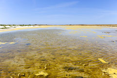 Lagoon. Compelling colours of a beautiful lagoon stock photo