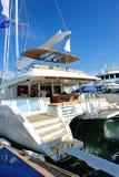 Lagoon 620 luxury yacht at Singapore Yacht Show Stock Photography