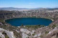 Lagoon Aljojuca.Mexico Stock Image