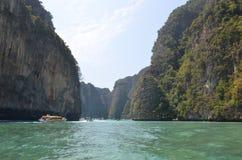 Lagoon 1. Lagoon in the Andaman Sea, Thailand Royalty Free Stock Image