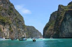 Lagoon 2. Lagoon in the Andaman Sea, Thailand Royalty Free Stock Photos