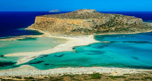 The lagoon of Balos Royalty Free Stock Photos