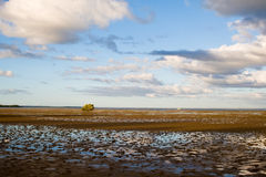 Lagoon in Barra in the late afternoon. Royalty Free Stock Photography