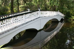 Lagoon bridge Royalty Free Stock Photo