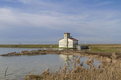 Lagoon of Comacchio Stock Photo