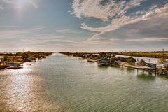 Lagoon of Comacchio, Italy Stock Photography