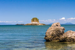 Lagoon and coral reef Royalty Free Stock Images