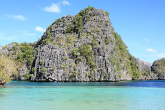 Lagoon at Coron island Stock Photography