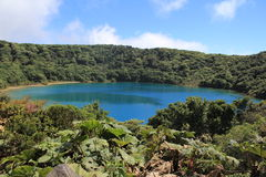 Lagoon in Costa Rica Royalty Free Stock Photography