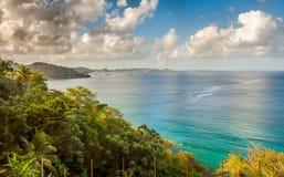 Lagoon in Grenada, Caribbean. Taken in Grenada Capital City, St. George Royalty Free Stock Image