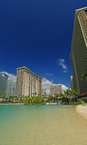 Lagoon at hilton hawaiian village in hawaii Nice! Stock Photo