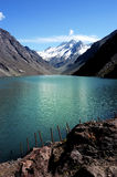 Lagoon of Inca, Chile Royalty Free Stock Photos