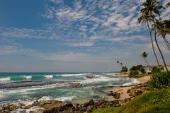 Lagoon. In Indian Ocean Sri Lanka stock photos