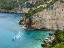 Lagoon island of Zakynthos. Royalty Free Stock Images