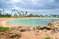 Lagoon at Ko Olina Stock Image