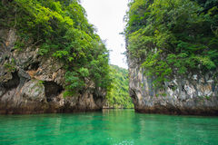 Lagoon Koh Hong, Krabi, Thailand Stock Photos