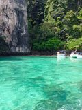 Lagoon in Koh Phi Phi Stock Photography