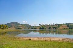Lagoon landscape Royalty Free Stock Photography