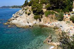 Lagoon lloret Royalty Free Stock Photography