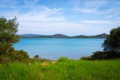 Lagoon near avalyik , turkey Royalty Free Stock Photo