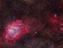 The Lagoon Nebula Stock Photo