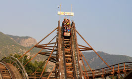 Lagoon Park Roller Coaster Royalty Free Stock Photos