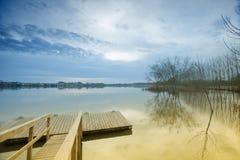Lagoon of Pateira Royalty Free Stock Photos