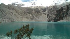 Lagoon in Peru stock video