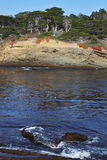 A lagoon in the  Point Lobos Royalty Free Stock Photos