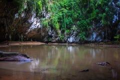 Lagoon at Railay Royalty Free Stock Photography