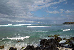Lagoon in Reunion. Lagoon in the Indian Ocean, Reunion Island Royalty Free Stock Image