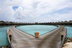 Lagoon Villa Stock Photography