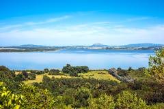Lagoon of the Willow, Maldonado, Uruguay Royalty Free Stock Images