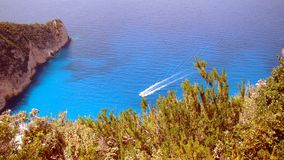 Lagoon at Zakynthos Stock Image