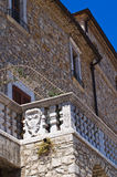 Lagopesole Castle. Basilicata. Italy. Royalty Free Stock Photography