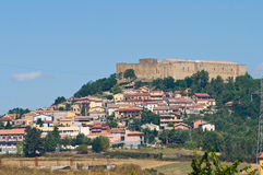 Lagopesole Castle. Basilicata. Italy. Stock Photo