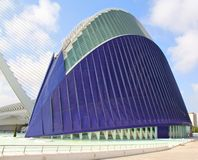LAgora. At the City of Arts and Sciences in Valencia Royalty Free Stock Photography