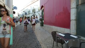 Lagos Algarve Portogallo stock footage