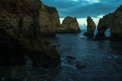 Lagos, Algarve, Portugal Images stock