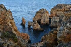 Lagos, Algarve, Portugal Images libres de droits