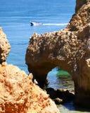 Lagos Algarve, Portugal royaltyfria bilder
