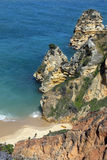 Lagos in the Algarve - Portugal. Royalty Free Stock Photography