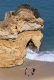 Lagos in the Algarve, Portugal. Stock Image