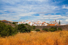 Lagos city for historic walls, Algarve Royalty Free Stock Photo