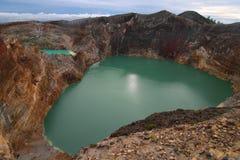 Lagos crater Foto de Stock