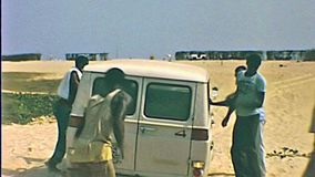 Lagos d'annata Nigeria stock footage