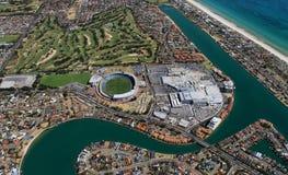 Lagos del oeste aéreos Imagenes de archivo