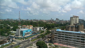 Lagos Ekonomiczny centrum Afryka Fotografia Royalty Free