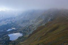 Lagos em montanhas de Tatra Imagens de Stock